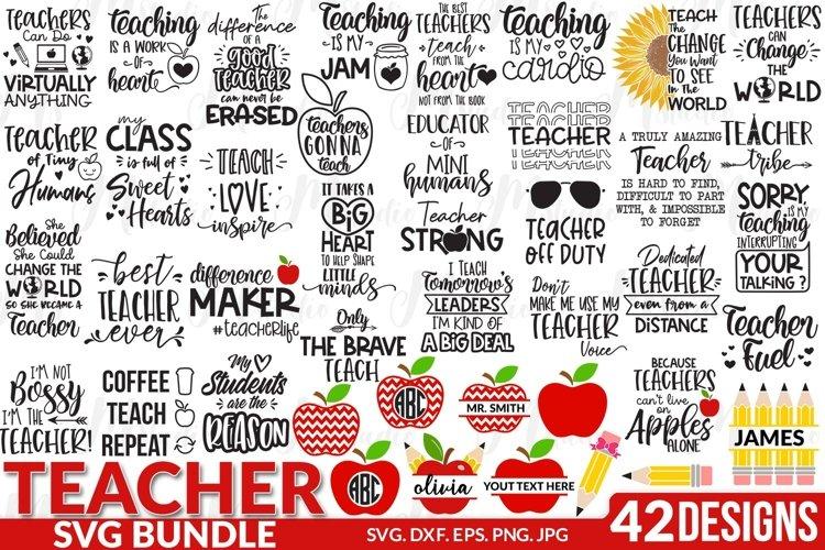 Teacher SVG Bundle, Best Seller. example image 1