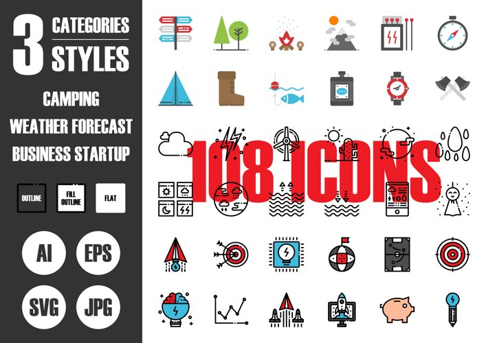 108 Pixel Perfect Icons Vol.5