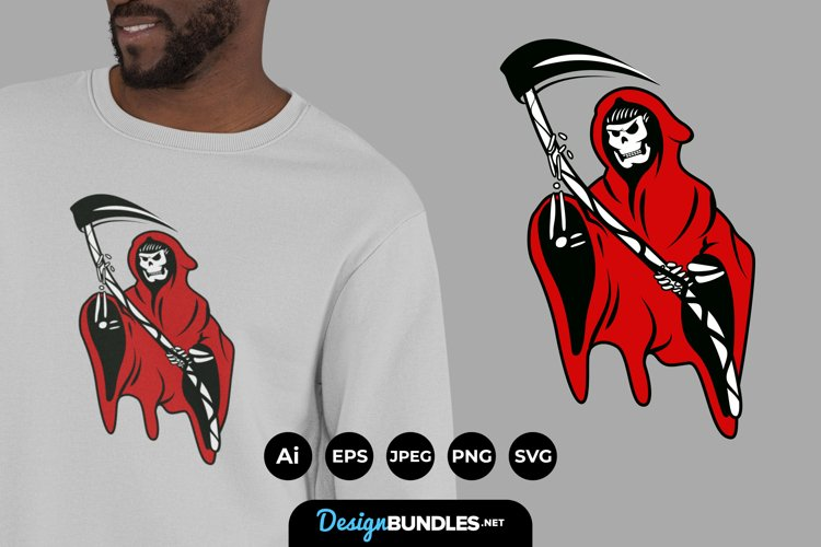 The Grim Reaper for T-Shirt Illustrations