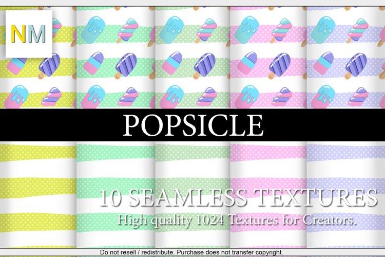 Popsicle 10 Seamless Textures Harmonia NM example image 1