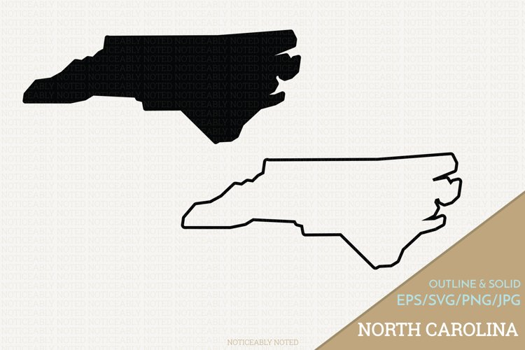 North Carolina Vector / Clip Art example image 1