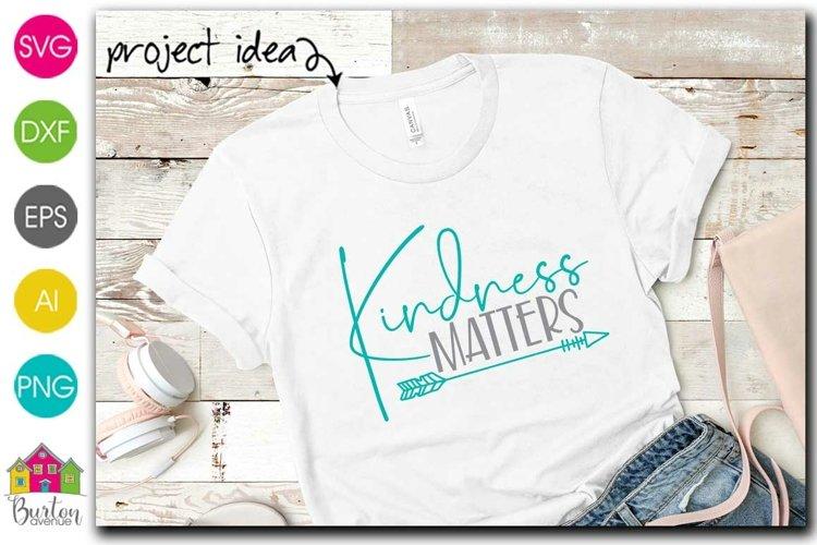 Kindness Matters SVG File