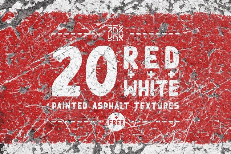 20 Painted Asphalt Textures