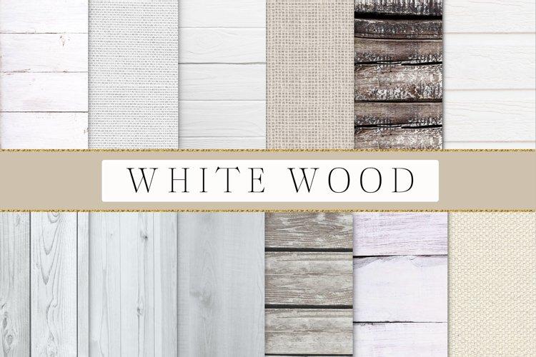 Wood digital paper, Rustic wood digital paper