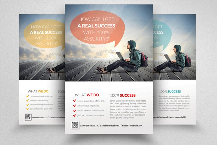 Finance Provider Firm Business Flyer example image 1