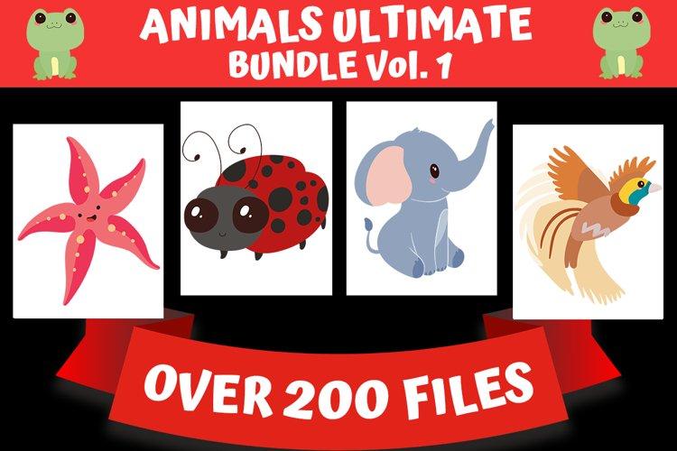 Animal SVG Ultimate Bundle - Over 200 Files