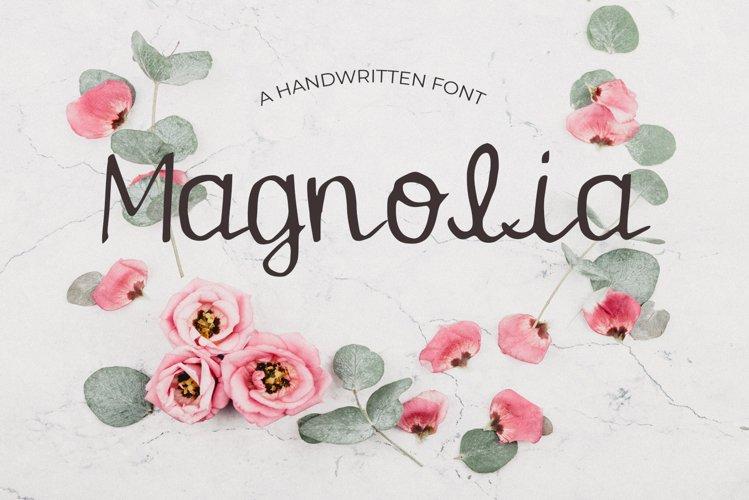 Magnolia Font example image 1