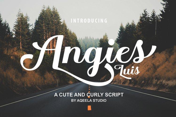 Angies Luis example image 1