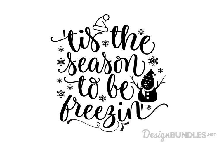 Tis the Season to be Freezin example