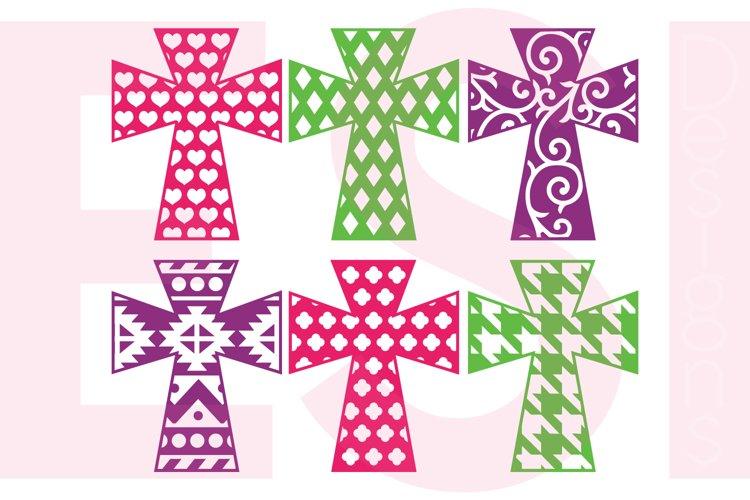 Patterned Cross Designs - Set 2