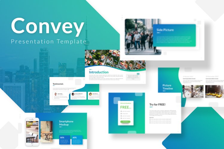 Convey - Presentation Template example image 1