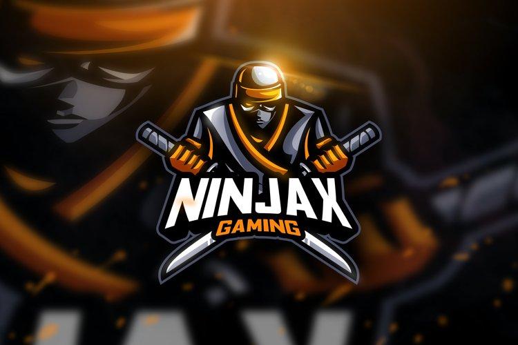 Ninjaxx Gaming - Mascot & Esport Logo example image 1