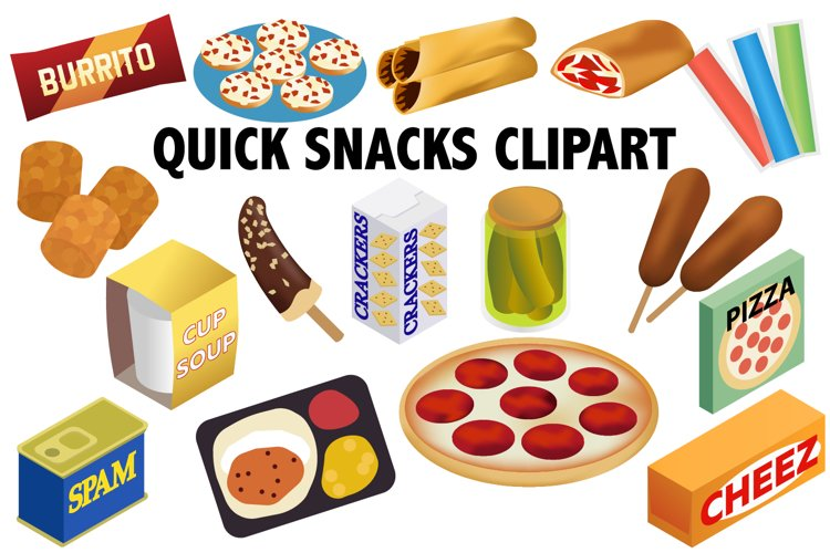 Quick Snack Clipart