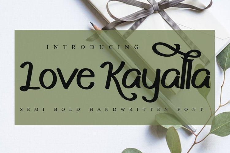 Love Kayalla example image 1