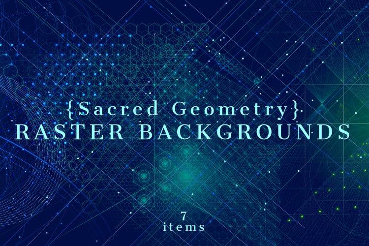 {Sacred Geometry} Raster Backgrounds example image 1