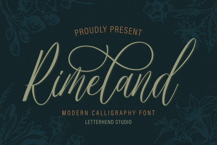 Rimeland - Modern Calligraphy example image 1