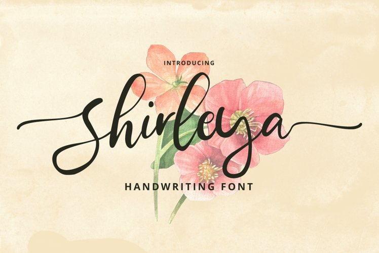Shirleya Script example image 1