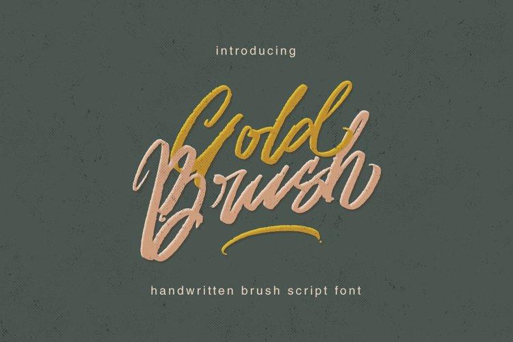 Gold Brush example image 1