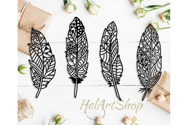 Zentangle feather, feather svg, feathers svg