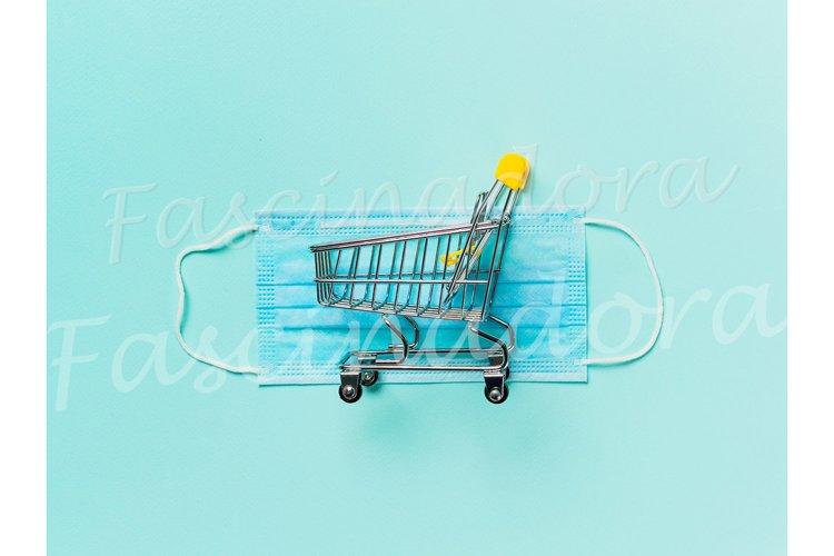 Coronavirus and shopping concept example image 1