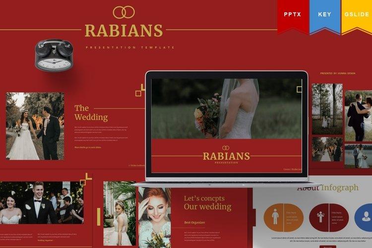 Rabians | Powerpoint, Keynote, GoogleSlides Template example image 1