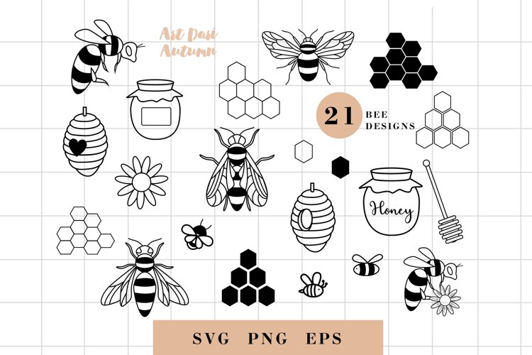Bee svg bundle, bee svg, bumble bee svg, honey comb svg