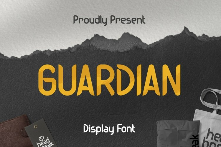 Web Font Guardian Font example image 1