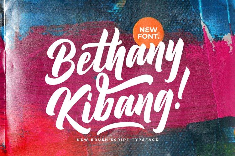 Bethany Kibang - Bold Script Font example image 1