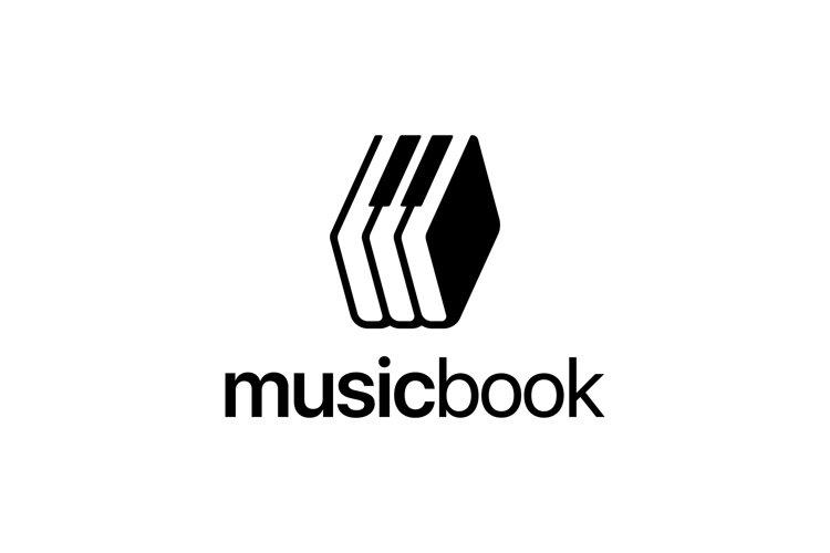 Music Book Logo example image 1
