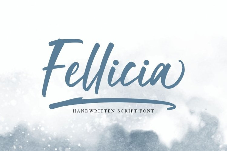 Fellicia Handwritten Font example image 1