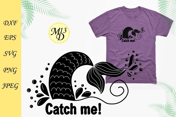Quote about mermaid and the tail of a mermaid example image 1