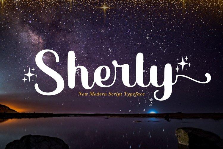 Web Font Sherly example image 1
