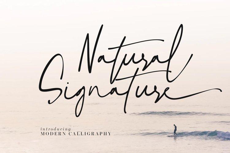 Natural Signature example image 1