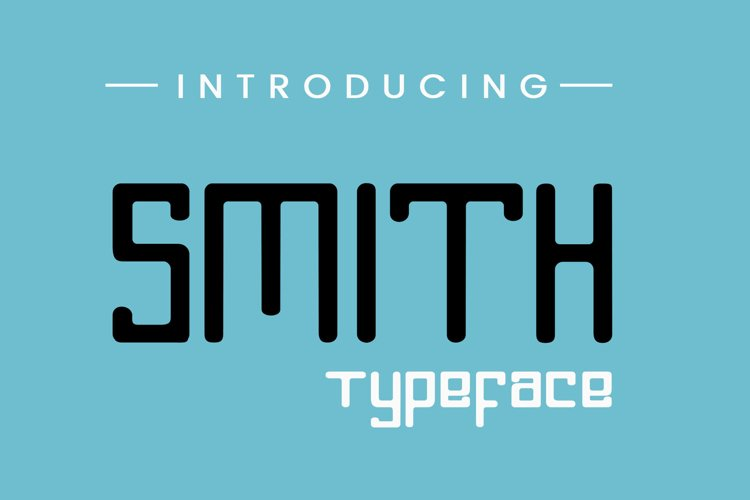Smith Typeface example image 1