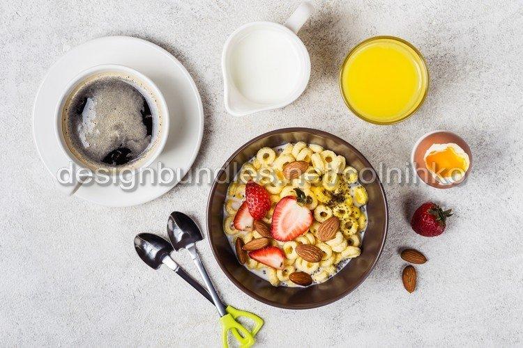 Balanced traditional breakfast example image 1