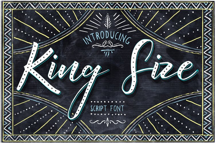 King Size Font example image 1