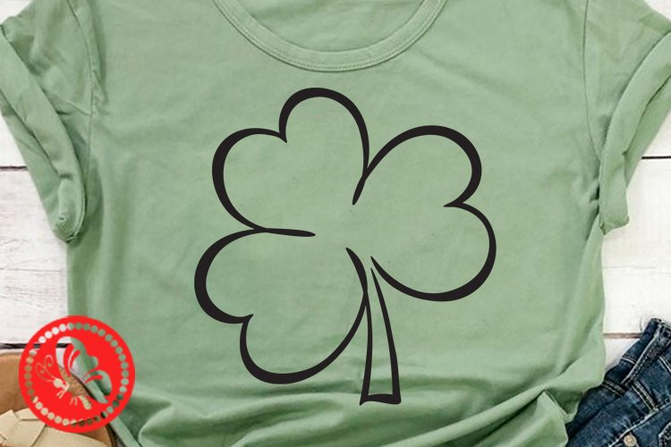 Shamrock svg Lucky sign St Patricks day decor Irish Png example image 1