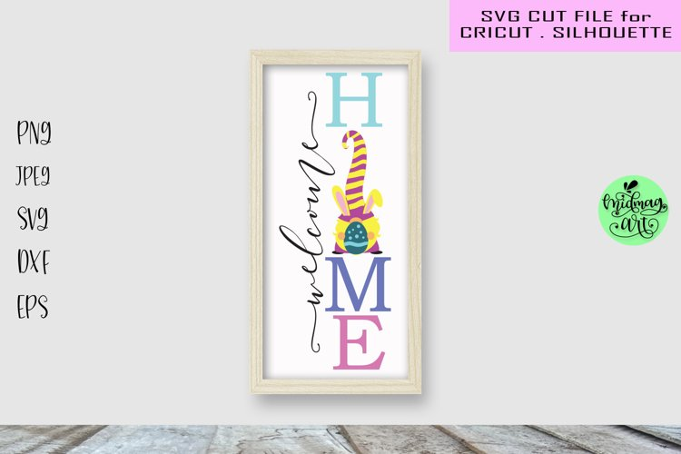 Welcome home porch sign svg, easter sign svg example image 1