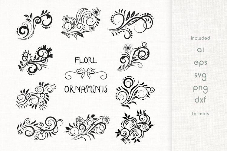 Handmade Floral Ornaments