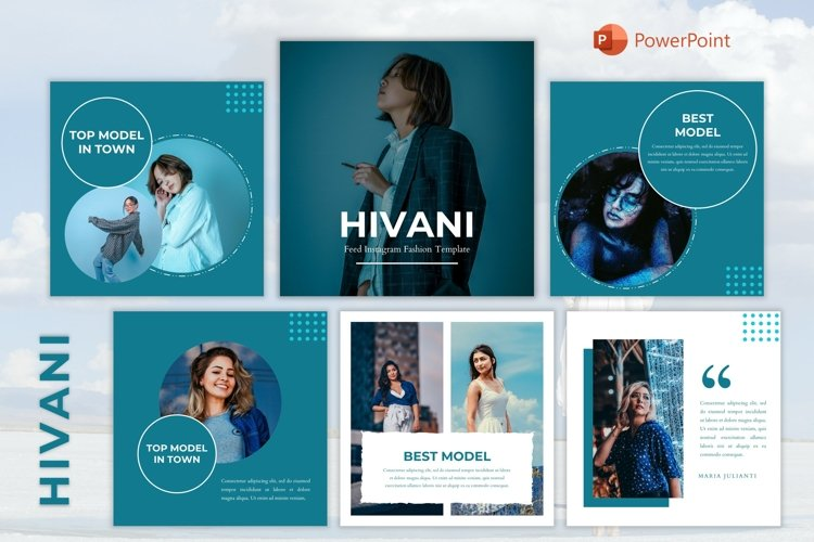 Instagram Feed Template - Hivani
