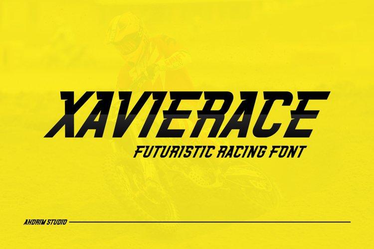 Xavierace example image 1