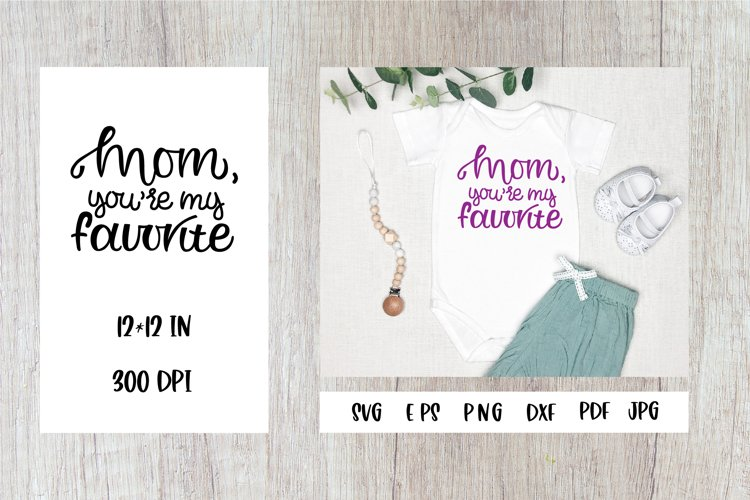 Mom Quotes SVG. Baby Quotes. Mommy And Me SVG example image 1