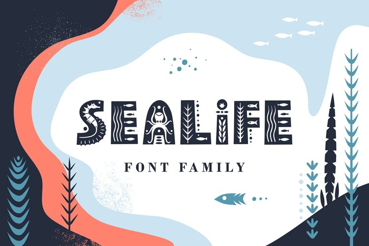 Sealife Font Family example image 1