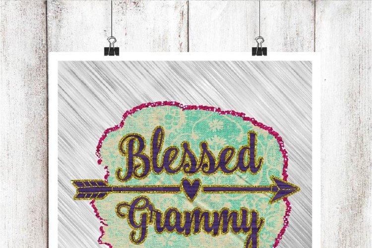 Blessed Grammy Digital Graphic