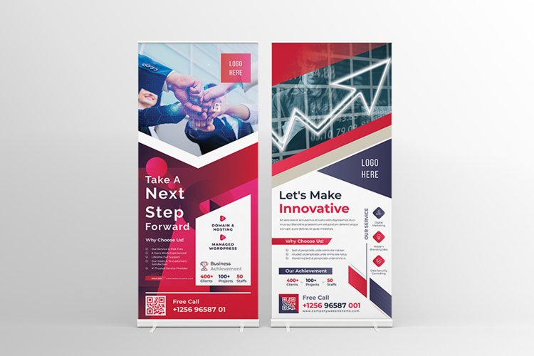 Modern Roll Up Banner Template example image 1