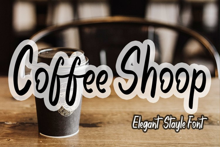 Coffee Shoop example image 1