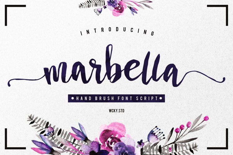 Marbella Typeface