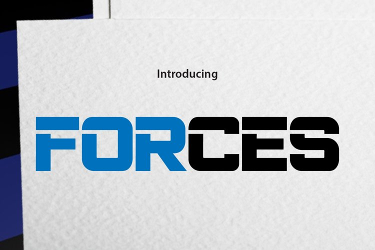 FORCES example image 1
