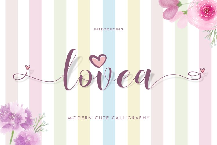 Lovea Script example image 1