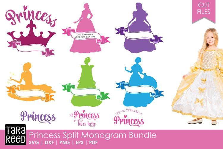 Princess Split Monogram Bundle